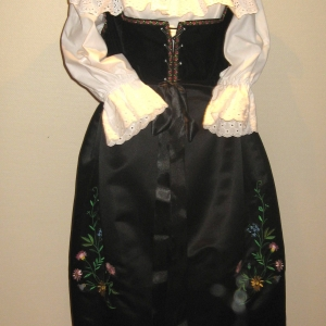 Costume alsacienne traditionnel