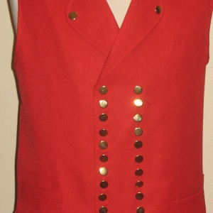 Gilet alsacien traditionnel