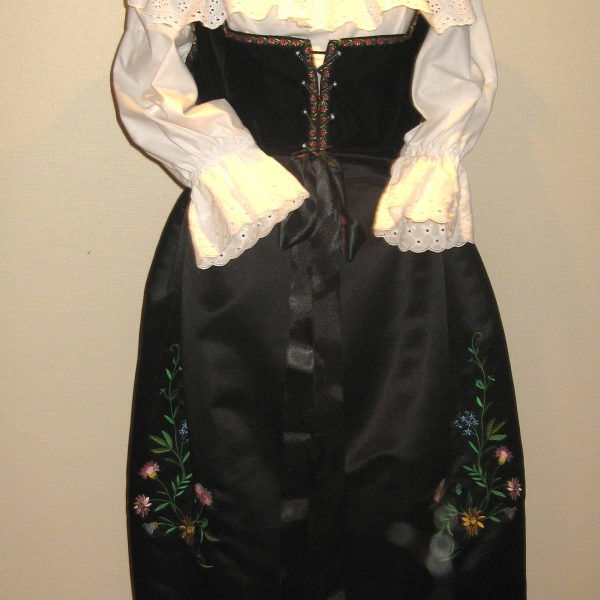 Costume alsacienne traditionnel
